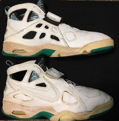 online store a253d 966dc 1993 OG Vintage Nike Air Tech Challenge Future sz 10 White Emerald Andre  Agassi