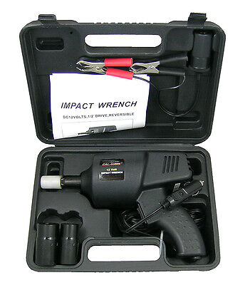 12 Volt Impact Auto Wrench Roadside Emergency Portable Automotive Power Tools