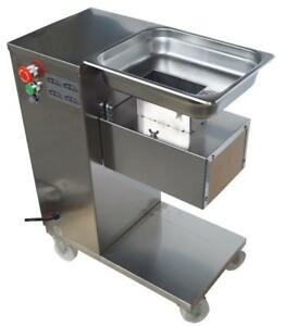 110V QE Stainless Steel Commercial Meat Slicer with 3mm Blade #160512