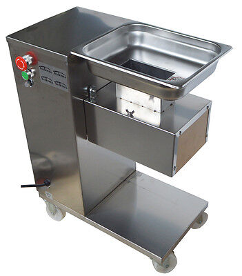 110v Qe Stainless Commercial Meat Slicer With 5mm Blade