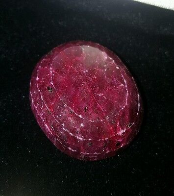 333.75 CTS Ruby (corundom) composite faceted oval retail replacement  $1000.00