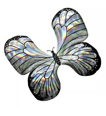"""Supershape30"""" Holographique Butterfly Mylar Balloon](Butterfly Balloon)"""