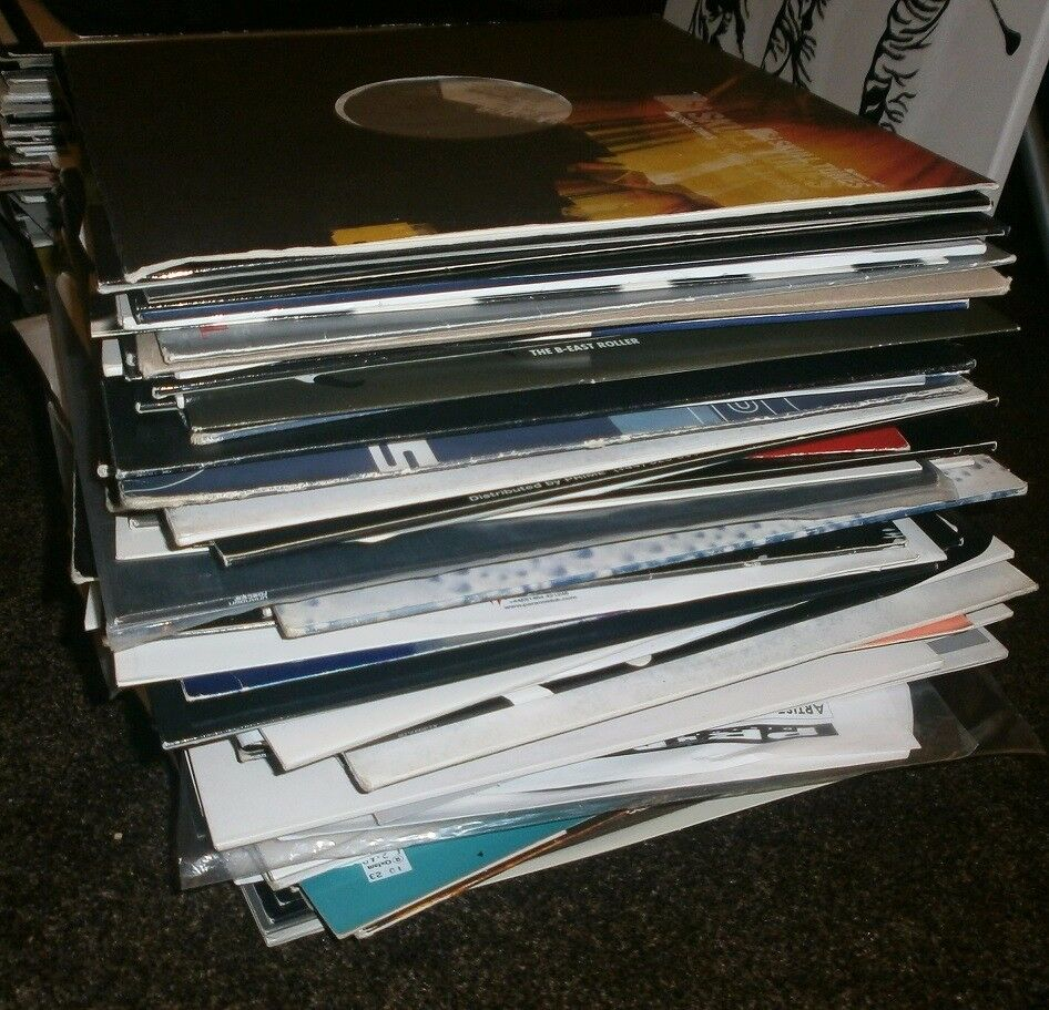 Collection of Techno Hard Trance Acid Vinyls 90's through to 2000's