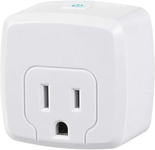Mini Smart WiFi Plug Compatible with Alexa/Google Home ETL Listed (1 Pack)