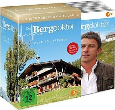 Der Bergdoktor Box Staffel 1-10 Komplett Jubiläumsedition NEU OVP 30 DVDs