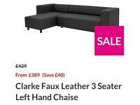 Learher sofa