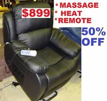 Lift Chair Electric Remote Recliner Massage Heat Comfy Lift Sumner Brisbane South West Preview