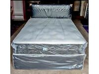 ⭐🆕CLEARENCE OFFER ON DIVAN BEDS IN ALL SIZES WITH STORAGE OPTION HEADBOARDS AND CHOICE OF MATTRESS