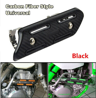 Mid Exhaust Muffler Protector Heat Shield Cover Guard For 4 Stroke Motorcycles