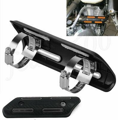 Universal Motorcycle Exhaust Muffler Pipe Heat Shield Ankle Guard Dirt Pit Bike
