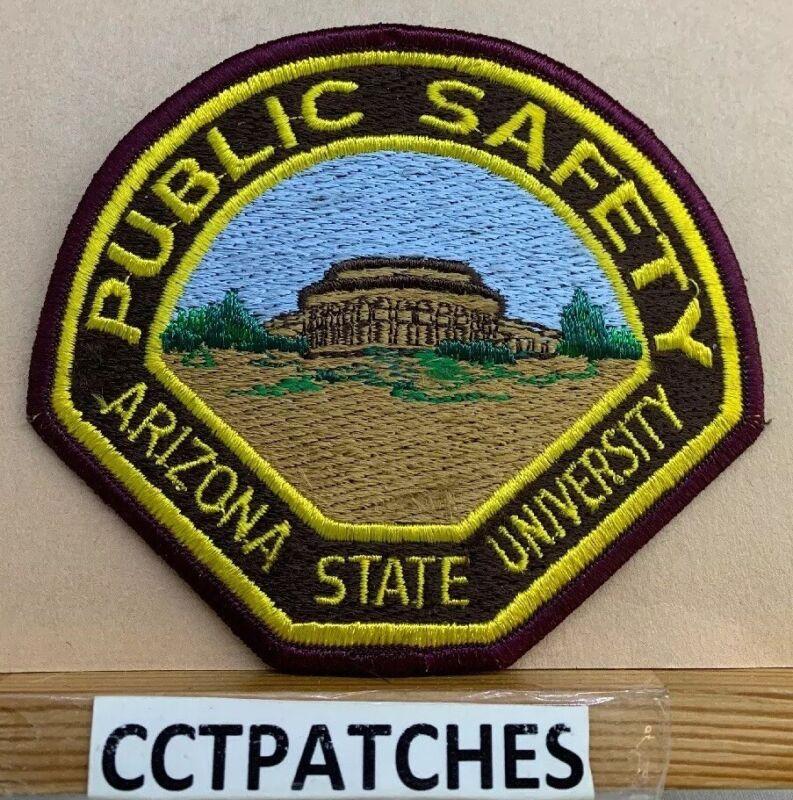 ARIZONA STATE UNIVERSITY PUBLIC SAFETY POLICE SHOULDER PATCH AZ