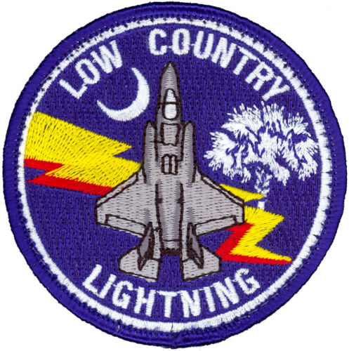 USMC MARINE FIGHTER ATTACK TRAINING SQUADRON-501 – F-35 – LOW COUNTRY PATCH