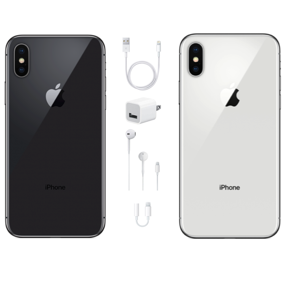 Apple iPhone X 256GB - GSM & CDMA Unlocked-USA Model-Apple Warranty