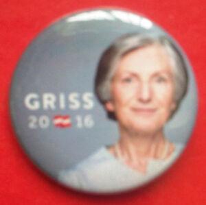 Button Irmgard Griss 2016 (# 162) - Wien, Österreich - Button Irmgard Griss 2016 (# 162) - Wien, Österreich