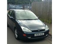 51 PLATE FORD FOCUS. 2 LITRE PETROL. MOT. PX TO CLEAR