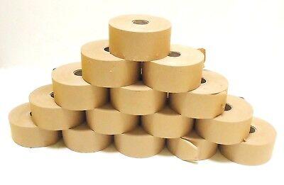 Paper Brown Paper Wet Tape Artist paper stretch 200m x 70mm (Brown Paper Rolls)