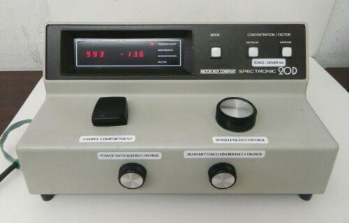 Milton Roy Spectronic 20D Digital Spectrophotometer 333175 Lab Equipment