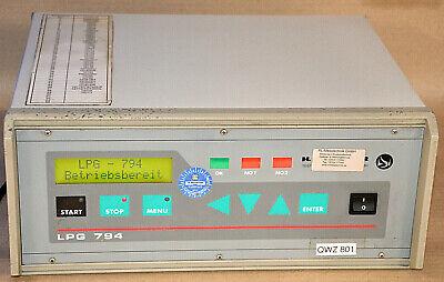 Test Vac (H SCHREINER LPG 794 Leck-Messcomputer Lecktester Lecksucher 230VAC LEAK DETECTOR)