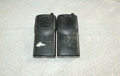 Kenwood Tk-2100 Vhf Portable Radios Lot Of 2 A69