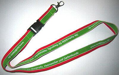 LandMAXX Baumarkt Schlüsselband Lanyard NEU (A13)