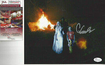 Halloween Chase Wright Vanek  autographed 8x10 photo JSA Certified