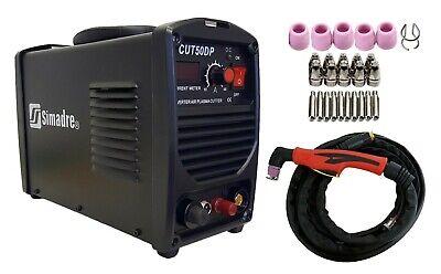 Plasma Cutter 26 Cons Pilot Arc 50a Simadre 110220v Easy 12 Cut 50dp Sim-g60