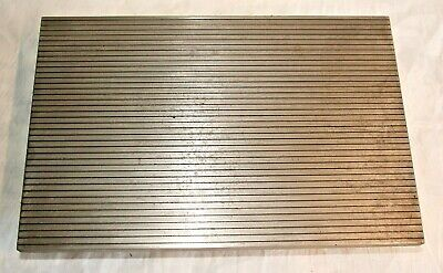 10 X 15 Cast Iron Precision Lapping Plate - Made In Usa