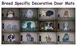 BREED-SPECIFIC-Decorative-Dog-Door-Mats-FREE-SHIPPING-in-The-USA-Canada
