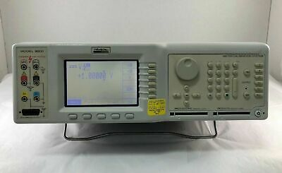 Wavetek 9000 Multi-function Calibrator - 90 Day Warranty Cracked Bezel See Pic