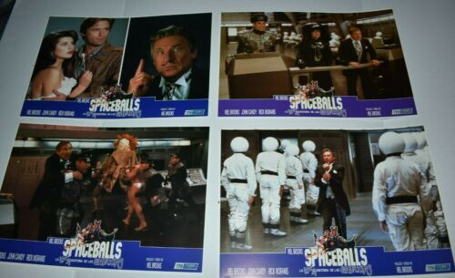 1987 SPACEBALLS  Spain Lobby Card set of 12 mel brooks