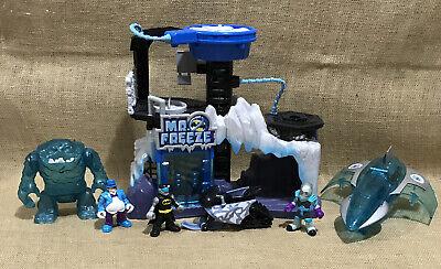 Lot of Imaginext Mr. Freeze Headquarters Batman Penguin Clayface