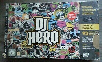 DJ Hero pour PS3 (PlayStation 3), pack avec platine complet Version Française. segunda mano  Embacar hacia Spain