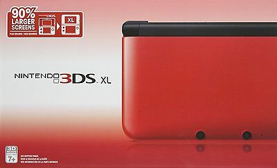 Nintendo 3DS XL System - RED / BLACK [N3DS XL Handheld Console] NEW for sale  Canada