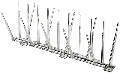 "Bird-B-Gone MM2000-5/6 Plastic Bird Spikes, Clear, 5"" x 6'"