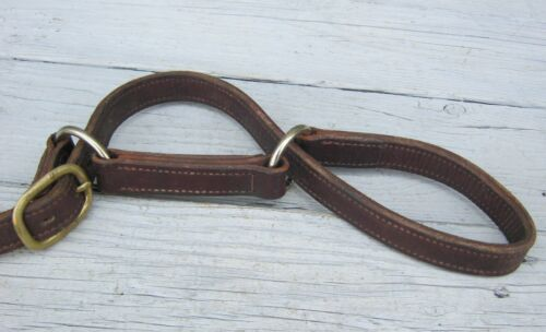 Stitched Leather Utah Hobbles