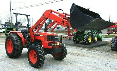 Kubota M4900 4x4 Loader - Free 1000 Mile Delivery From Ky