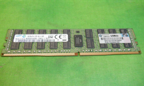 HP Samsung 16GB 2Rx4 PC4-2133P DDR4 ECC REG SERVER MEMORY 752369-081  @6