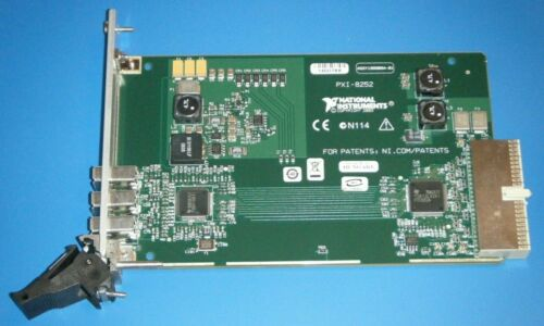 NI PXI-8252 3ch 1394a Video/Image Acquisition, National Instruments *Tested*