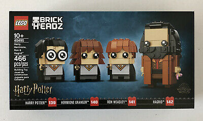 LEGO BrickHeadz 40495 Harry Potter. Harry, Hermione, Ron & Hagrid