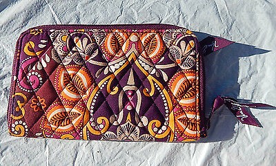VERA BRADLEY Zip Around Wallet in Safari Sunset NWT, RETIRED AND SOLD OUT ONLINE