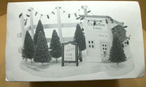 "Dept. 56 Snow Village ""Tree Lot"" Accessory. MIB"