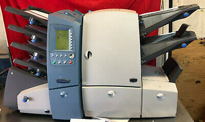 See Video - Pitney Bowes Di600 Mail Folder Inserter And Sealer Tested Low Count