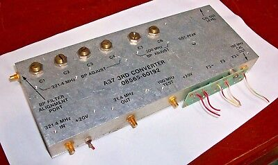 Agilent Hp  08565-60192  A37  3rd Converter Assembly  For Hp 8569b