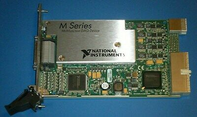 Ni Pxi-6289 32ch 18bit M-series Multifunction Daq National Instruments Tested