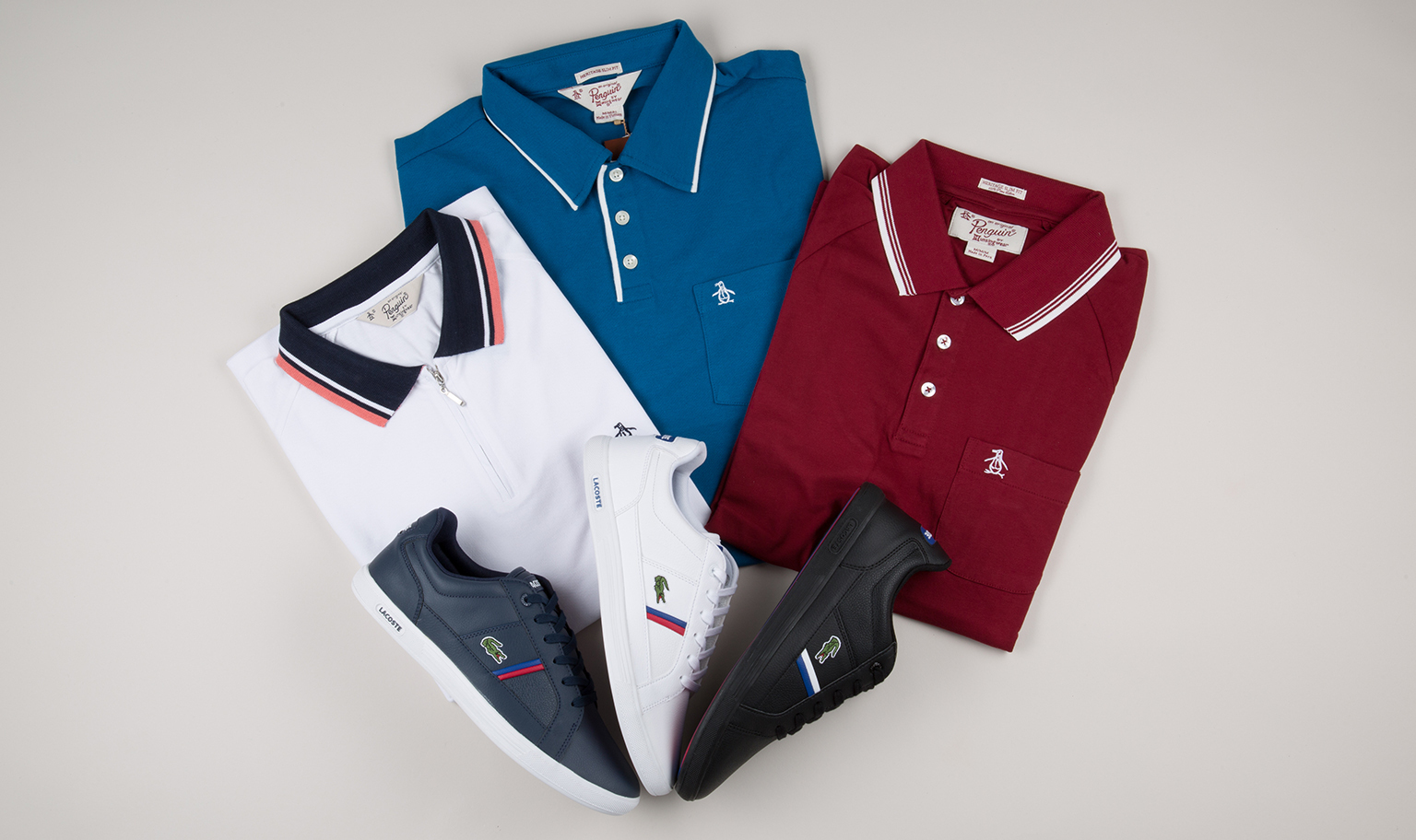 Up To 45% Off Penguin & Lacoste