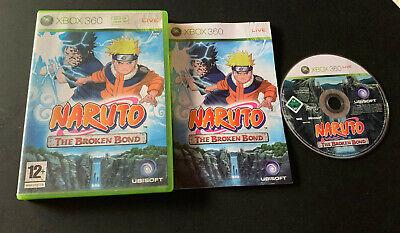 Naruto the Broken Bond XBOX 360 PAL ESPAÑOL comprar usado  Enviando para Brazil