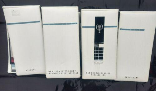 1999 CADILLAC UPHOLSTERY FABRIC, SAMPLES DEALER SHOWROOM  ORIGINAL