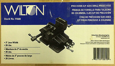 Wilton 11688 3-inch Precision Xy Axis Drill Press Vise