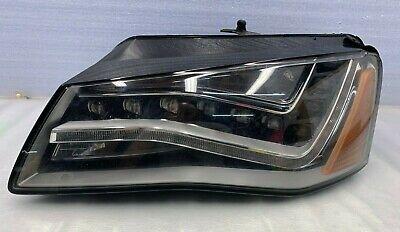 2011 - 2014 AUDI A8 A8L S8 LEFT DRIVER SIDE HEADLIGHT LED 4H0941003AJ OEM