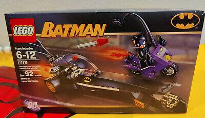 LEGO 7779 Batman The Batman Dragster: Catwoman Pursuit 92 Pieces Sealed